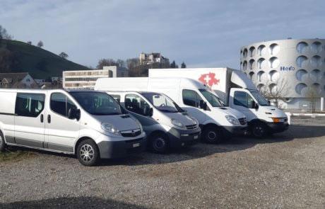Lieferwagen mieten in Lenzburg